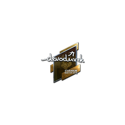 Sticker | devoduvek (Foil) | Boston 2018