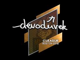Sticker | devoduvek | Boston 2018