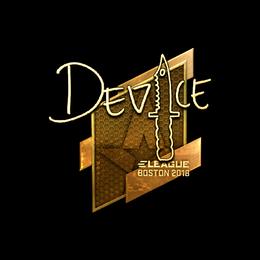 device (Gold) | Boston 2018