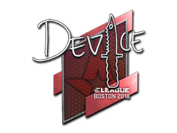 Sticker | device | Boston 2018