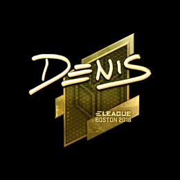 denis (Gold) | Boston 2018