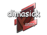 Skin Sticker | dimasick | Boston 2018