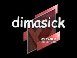 Sticker | dimasick | Boston 2018