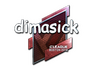 Skin Sticker | dimasick (Foil) | Boston 2018