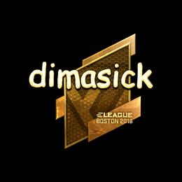 dimasick (Gold) | Boston 2018