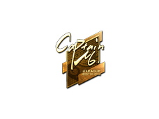 Skin Sticker | captainMo (Gold) | Boston 2018