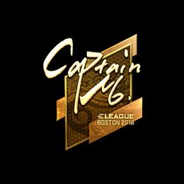 captainMo (Gold) | Boston 2018