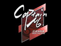Sticker | captainMo | Boston 2018