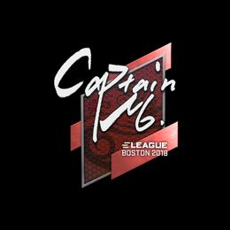 captainMo | Boston 2018