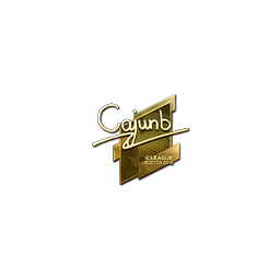Sticker | cajunb (Gold) | Boston 2018