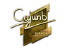 Skin Sticker | cajunb (Gold) | Boston 2018