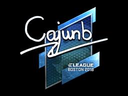 cajunb | Boston 2018
