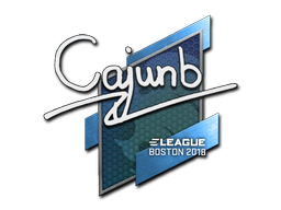 Sticker | cajunb | Boston 2018