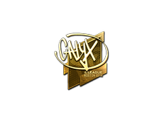 Skin Sticker | Calyx (Gold) | Boston 2018