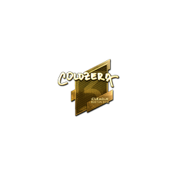 Sticker | coldzera (Gold) | Boston 2018