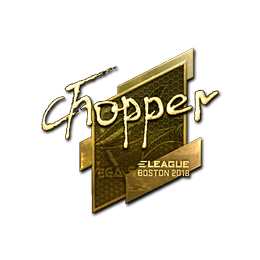 chopper (Gold) | Boston 2018