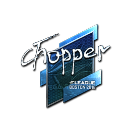 chopper (Foil) | Boston 2018