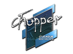 chopper | Boston 2018