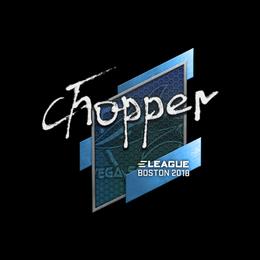 chopper | Boston 2018