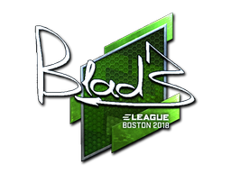 Sticker | B1ad3 (Foil) | Boston 2018