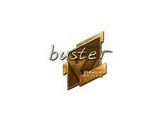 Skin Sticker | buster (Gold) | Boston 2018