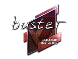 Sticker | buster (Foil) | Boston 2018