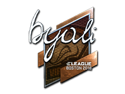 Sticker | byali (Foil) | Boston 2018