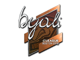 Sticker | byali | Boston 2018