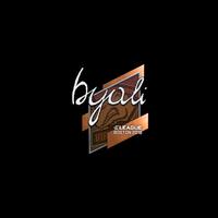 Sticker | byali | Boston 2018