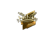 Skin Sticker | balblna (Gold) | Boston 2018