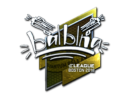 Sticker | balblna (Foil) | Boston 2018