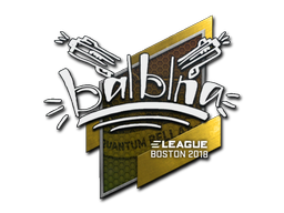Sticker | balblna | Boston 2018