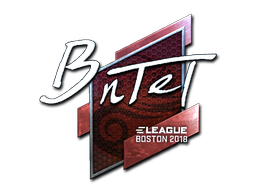Sticker | BnTeT (Foil) | Boston 2018