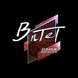 BnTeT (Foil) | Boston 2018