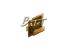 Skin Sticker | BnTeT (Gold) | Boston 2018