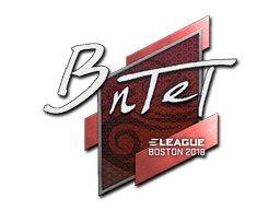 Sticker | BnTeT | Boston 2018