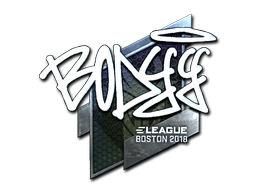 Sticker | bodyy (Foil) | Boston 2018