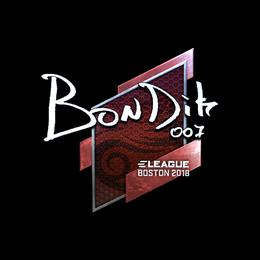 bondik (Foil) | Boston 2018