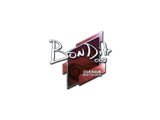 Skin Sticker | bondik (Foil) | Boston 2018