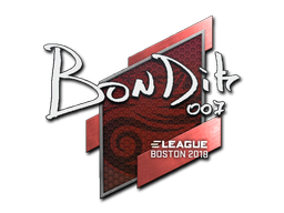 Sticker | bondik | Boston 2018