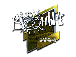 Sticker | Boombl4 (Foil) | Boston 2018