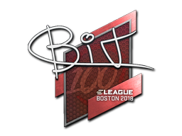 Sticker | BIT | Boston 2018
