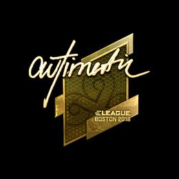 autimatic (Gold) | Boston 2018