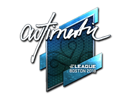 Sticker | autimatic (Foil) | Boston 2018