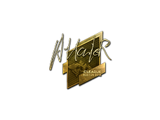 Skin Sticker | Attacker (Gold) | Boston 2018
