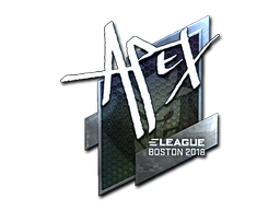 Sticker | apEX (Foil) | Boston 2018