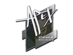 Sticker | apEX | Boston 2018
