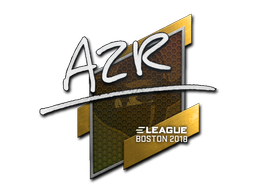 Sticker | AZR | Boston 2018
