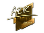 Skin Sticker | AZR (Gold) | Boston 2018