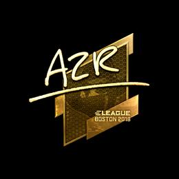 AZR (Gold) | Boston 2018